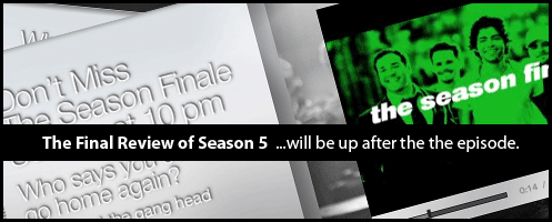 Season Finale on soon!